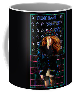Aunt Sam Coffee Mug