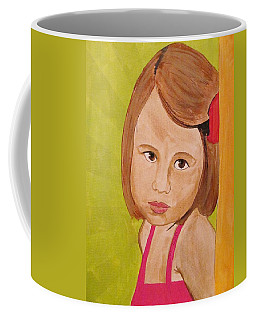 Coffee Mug featuring the painting Aurora by Michelle Dallocchio