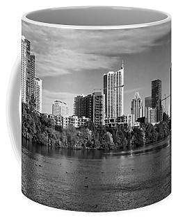Austin Skyline Bw Coffee Mug
