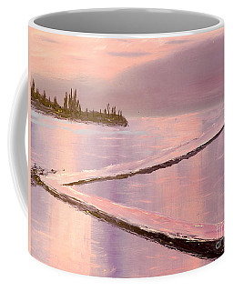 Austinmer Pool At Sunset Coffee Mug