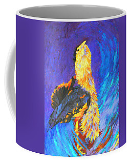 Australian Bustard Displaying Coffee Mug