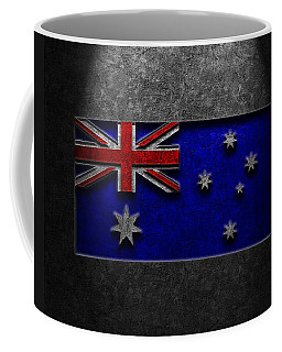Australian Flag Stone Texture Coffee Mug