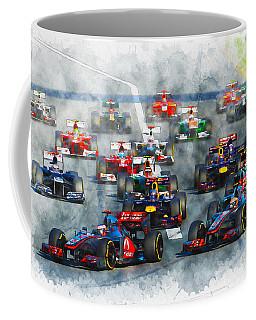 Australian Grand Prix F1 2012 Coffee Mug