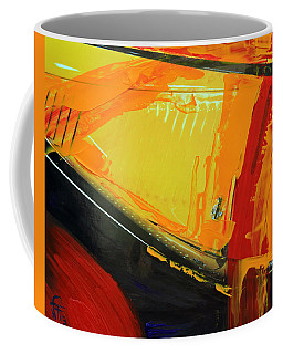 Abstract Composition No 2 Coffee Mug by Walter Fahmy