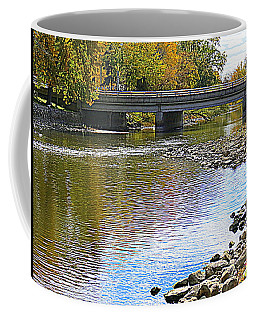 Autumn Along The Fox River Coffee Mug