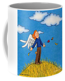 Autumn Angel Coffee Mug