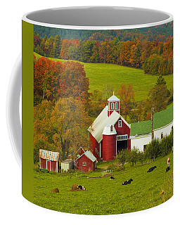 Autumn At Bogie Mountain Dairy Farm Coffee Mug
