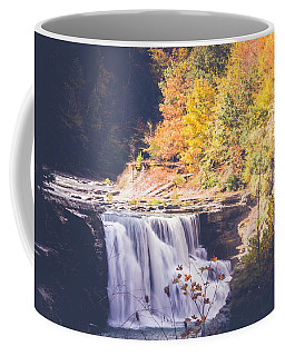 Autumn At Letchworth Coffee Mug by Sara Frank