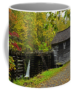 Autumn At Mingus Mill Coffee Mug