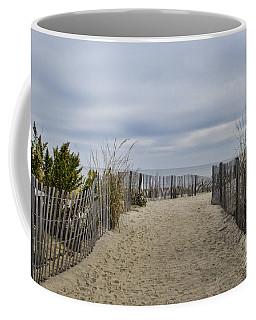 Autumn At The Beach Coffee Mug