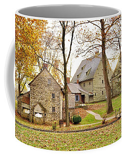 Autumn At The Cloister Coffee Mug