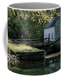 Autumn At The Lockhouse Coffee Mug