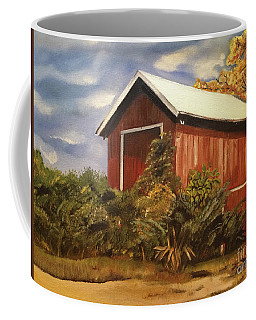 Autumn - Barn - Ohio Coffee Mug