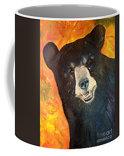Autumn Bear Coffee Mug by Jan Dappen