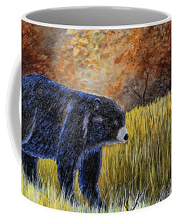 Autumn Black Bear Coffee Mug