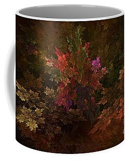 Coffee Mug featuring the digital art Autumn Bouquet by Olga Hamilton