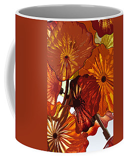 Coffee Mug featuring the digital art Autumn Burst by Kirt Tisdale