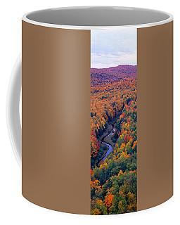 Autumn Color At Porcupine State Park Coffee Mug