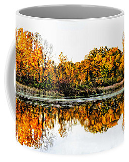 Autumn Color Coffee Mug by Pat Cook