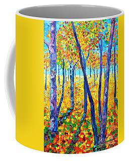 Autumn Colors Coffee Mug by Ana Maria Edulescu