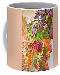 Autumn Colors Of Virginia Creeper Coffee Mug