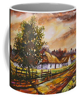 Autumn Cottages Coffee Mug