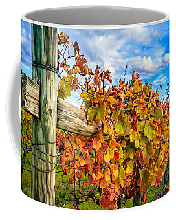 Autumn Falls At The Winery Coffee Mug