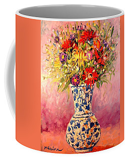 Autumn Flowers Coffee Mug by Ana Maria Edulescu