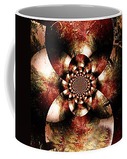 Autumn Fractal Abstract Coffee Mug