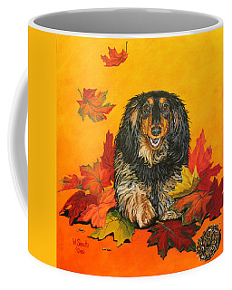Autumn Fun Coffee Mug by Wendy Shoults