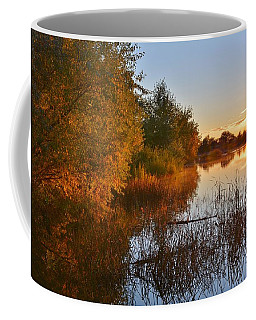 Autumn Glow At The Lake Coffee Mug