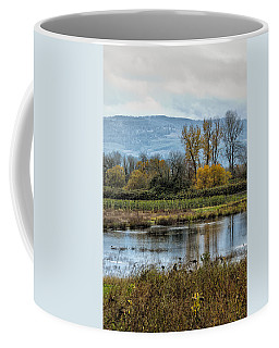 Coffee Mug featuring the photograph Autumn Haven by Belinda Greb