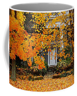 Autumn Homecoming Coffee Mug