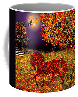 Autumn Horse Bewitched Coffee Mug by Michele Avanti