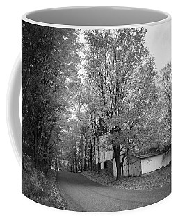 Autumn In Black And White Coffee Mug