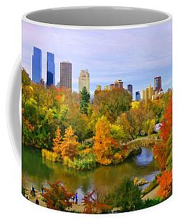 Autumn In Central Park 4 Coffee Mug