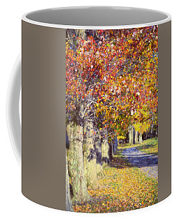 Autumn In Hyde Park Coffee Mug