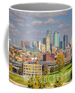 Autumn In Kansas City With Logo Coffee Mug