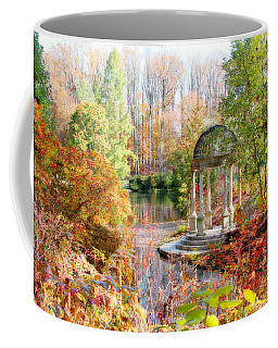 Autumn In Longwood Gardens Coffee Mug by Trina  Ansel