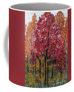 Autumn In Nashville Coffee Mug by Holly Carmichael