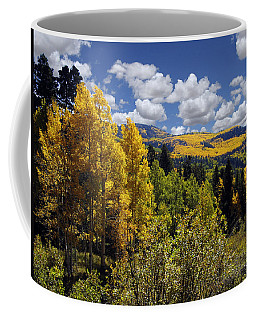 Autumn In New Mexico Coffee Mug by Kurt Van Wagner