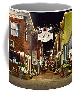 Autumn In Penny Lane - Rehoboth Beach Delaware Coffee Mug