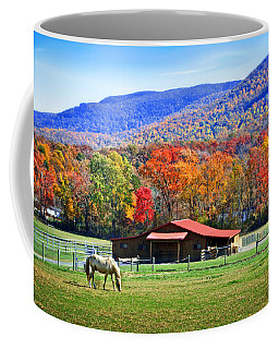 Autumn In Rural Virginia  Coffee Mug