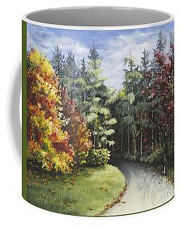 Autumn In The Arboretum Coffee Mug