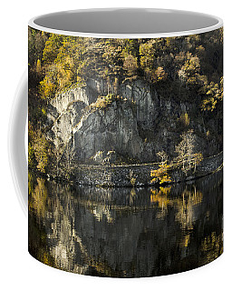 Autumn In The Lake Coffee Mug by Linsey Williams