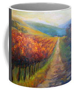 Autumn In The Vineyard Coffee Mug