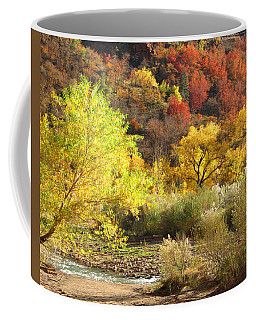 Autumn In Zion Coffee Mug