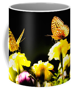 Coffee Mug featuring the photograph Autumn Is When We First Met by Bob Orsillo