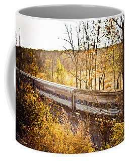 Autumn Journey Coffee Mug by Sara Frank