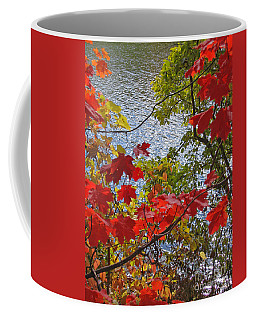 Autumn Lake Coffee Mug